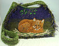 Hey, I found this really awesome Etsy listing at https://www.etsy.com/listing/216352229/felted-purse-fox-art-fox-pursefelt