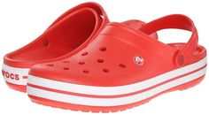 Crocs Crocband, Clogs Shoes, White Shoes, Discount Shoes, Retro Fashion, Open Toe, Casual Outfits, Footwear, Slip On