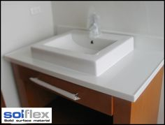 SOLFLEX is easy to install, cut, shape, drill and bond to each other to create a continuous, seamless surface.
