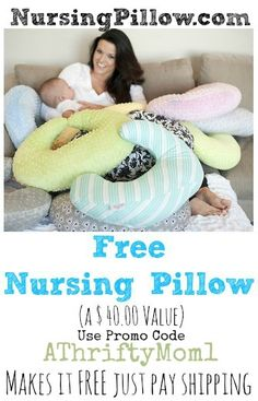 FREE NURSING PILLOW FROM NURSINGPILLOW.COM, USE PROMO CODE ATHRIFTYMOM1 @piratesforever0