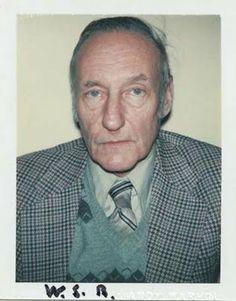 Andy Warhol Polaroids- William S. Burroughs