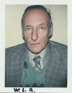 Andy Warhol Polaroids: William Burroughs