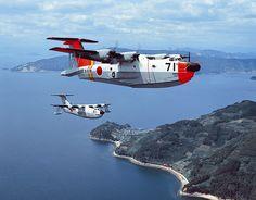 国産初となる水陸両用機「PS-1改(後にUS-1型救難飛行艇に改称)」1号機が初飛行。