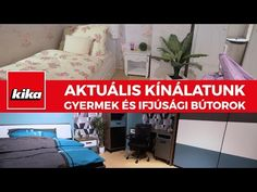 Aktuális termékkínálatunk - Gyermek és Ifjúsági bútorok | Kika Magyarország - YouTube Youtube, Home Decor, Homemade Home Decor, Decoration Home, Youtube Movies, Interior Decorating