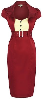 Pinup 1950s Wiggle Pencil Dress...I guess my clothing style is getting more conservative in my oldness LOL....