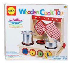ALEX Toys Wooden Cook Top >>> More info could be found at the image url.