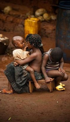 "This isn't a ""dream"" vacation since I've already been to Cameroon, Africa. My heart goes out to these precious children♥"