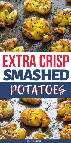 Small Potatoes Recipe, Canned Potatoes, Baby Gold Potatoes Recipe, Smash Potatoes, Side Dish Recipes, Vegetable Recipes, Vegetarian Recipes, Cooking Recipes, Chef Recipes