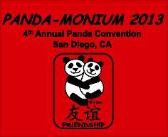 The 2013 T-shirt for Panda-Monium