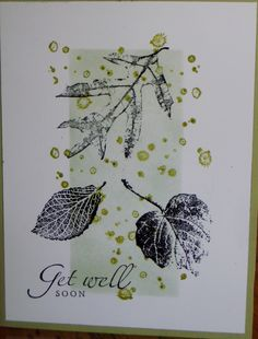 Stampin' Up - French Foliage Hand Made Greeting Cards, Greeting Cards Handmade, Leaf Cards, Thanksgiving Cards, Get Well Cards, Fall Cards, Card Sketches, Sympathy Cards, Paper Cards