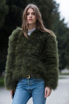 THE IMPRESSION'SMILAN WOMEN'SCOLLECTIONSTREETSTYLEFALL 2016 by Vincenzo Grillo  Imaxtree.com