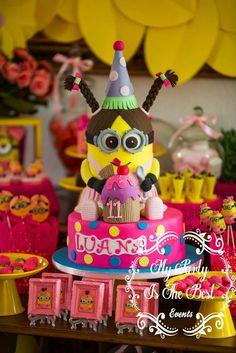 Minion Girl Birthday Party