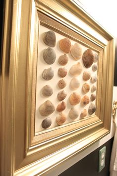 DIY Shell Art