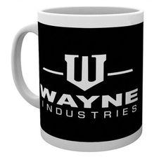 Batman Tasse Wayne Industries Logo. Hier bei www.closeup.de