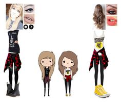 """""""Chibi Inspired Outfit #6"""" by nikkie-fen ❤ liked on Polyvore"""