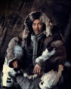 Was the magic cloak made on the island? Animals....Before They pass away,Chukotka,Siberia,Russia