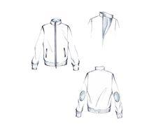 Mariana Cino's fashion sketches  #modauomo #men #sportswear
