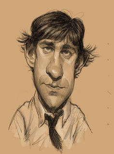 Jason Seiler in Caricature. Can you imagine how will your face look in caricature? Cool Pencil Drawings, Realistic Drawings, Caricature Artist, Caricature Drawing, Funny Caricatures, Celebrity Caricatures, Cartoon Faces, Funny Faces, Cartoon People