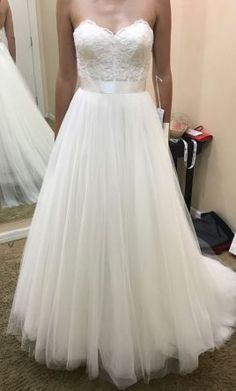 Watters Agatha wedding dress currently for sale at 19% off retail.