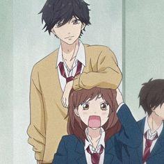 Manga Anime, Otaku Anime, Anime Art, Anime Love, Anime Guys, Ao Haru Ride Kou, Futaba Y Kou, Chihiro Y Haku, Blue Springs Ride