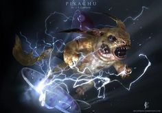 Artist Turned These Pokemon Into The Stuff Of Nightmares | UltraLinx