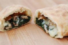 This recipe takes what you think a calzone should be and gives it a spring twist...or fold. Happy foraging!