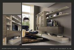Colombini olasz modern nappali bútorok, Vitalyty Luce tv szekrények, könyvespolcok, nappali falak, étkező bútorok – Bono Design Tv, Bonn, Television Set, Television