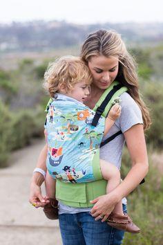 Canvas - Holistic Parent exclusive 'Treasure Cove' TULA BABY CARRIER