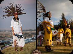 Trajes De Danzantes Aztecas | Para mayor informacion sobre la indumentaria Azteca visite Atuendos