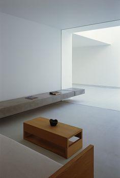 white cave house | bench ~ takuor yamamoto architects