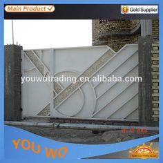 Source Beautiful house main iron gate designs,house steel gate design on m.alibaba.com