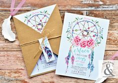 Tarjetas de 15 bohemia Invitation Design, Invitation Cards, Wedding Invitations, 15th Birthday, 1st Birthday Girls, Trunk Party, Debut Ideas, Boho Chic, Ideas Para Fiestas