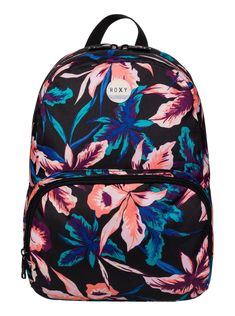 roxy, Always Core - Backpack, TRUE BLACK MAUI LIGHTS (kvj8)