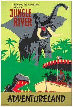 jungle cruise poster - Google Search