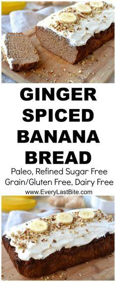 Ginger Spiced Banana Bread