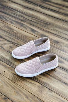 Ecentrcq Quilted Sneaker, Blush | Steve Madden
