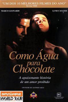 Como Água para Chocolate é a dica que o @OmnivoreRio traz para este final de semana!  Para ver ou rever, bem acompanhado - o filme narra a história de um amor proibido entre dois jovens mexicanos que se consolida através de receitas típicas, rústicas e requintadas. Confira o trailer: http://www.youtube.com/watch?v=Vqm8_GjKDBc