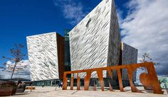 Titanic Belfast is a visitor attraction and a monument to Belfast's maritime heritage on the site of the former Harland & Wolff shipyard in the city's Titanic Q... Get more information about the Titanic Belfast on Hostelman.com #attraction #United #Kingdom #monument #museum #travel #destinations #tips #packing #ideas #budget #trips