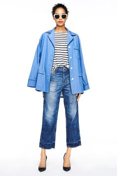J.Crew spring 2015 (yep, wide-leg jeans are back!)