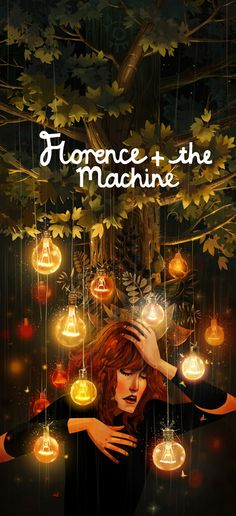 Florence + the machine Art Tribute by Júlia Sardà ... see http://juliasarda.blogspot.sg