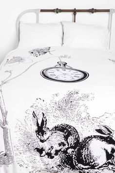 White Rabbit Duvet Cover
