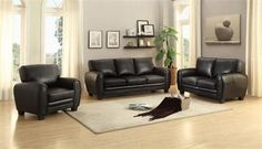 Shop Home Elegance Rubin Living Room Set with great price, The Classy Home Furniture has the best selection of Living Room Sets to choose from 3 Piece Living Room Set, Leather Living Room Set, Living Room Sets, Living Room Decor Themes, Bedroom Decor, Beautiful Living Rooms, High Quality Furniture, Sofa Set, Interiors