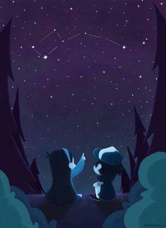 ŌkamiandFenrix: Cuando estamos juntos la oscuridad no es nada, todo es posible, yo no hago estos dibujos, arte si me preguntan pero quisiera ponerlos porque tienen un gran significado para nosotros los que quisiéramos haber nacido en Gravity Falls. ------------------------------------------------- ŌkamiandFenrix: When we're together darkness is nothing, everything is possible, I do not do these drawings, art if you ask me but I would like them because they have great meaning for us that we…