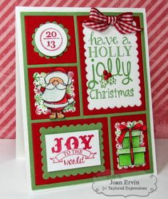 Stamping with a Passion!: Taylored Expressions October Release Day: O Christmas Tree and Color Block Cutting Plate