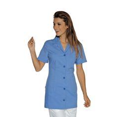 Blouse Tunique médicale bleue