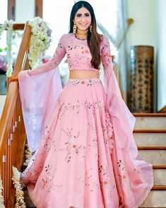 These Light Colored Bridal Lehengas Will Make You Ditch Reds & Pinks!