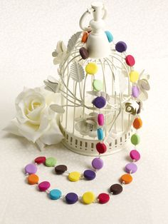 How to Make a FIMO Necklace #JewelleryMaking #FIMO