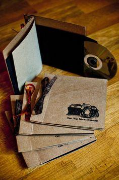 packaging handmade dvd sleeve