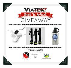 Viatek Back To School Giveaway @Viatek @SMGurusNetwork