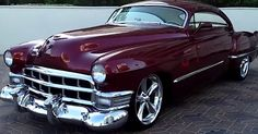 1949 Cadillac Coupe.